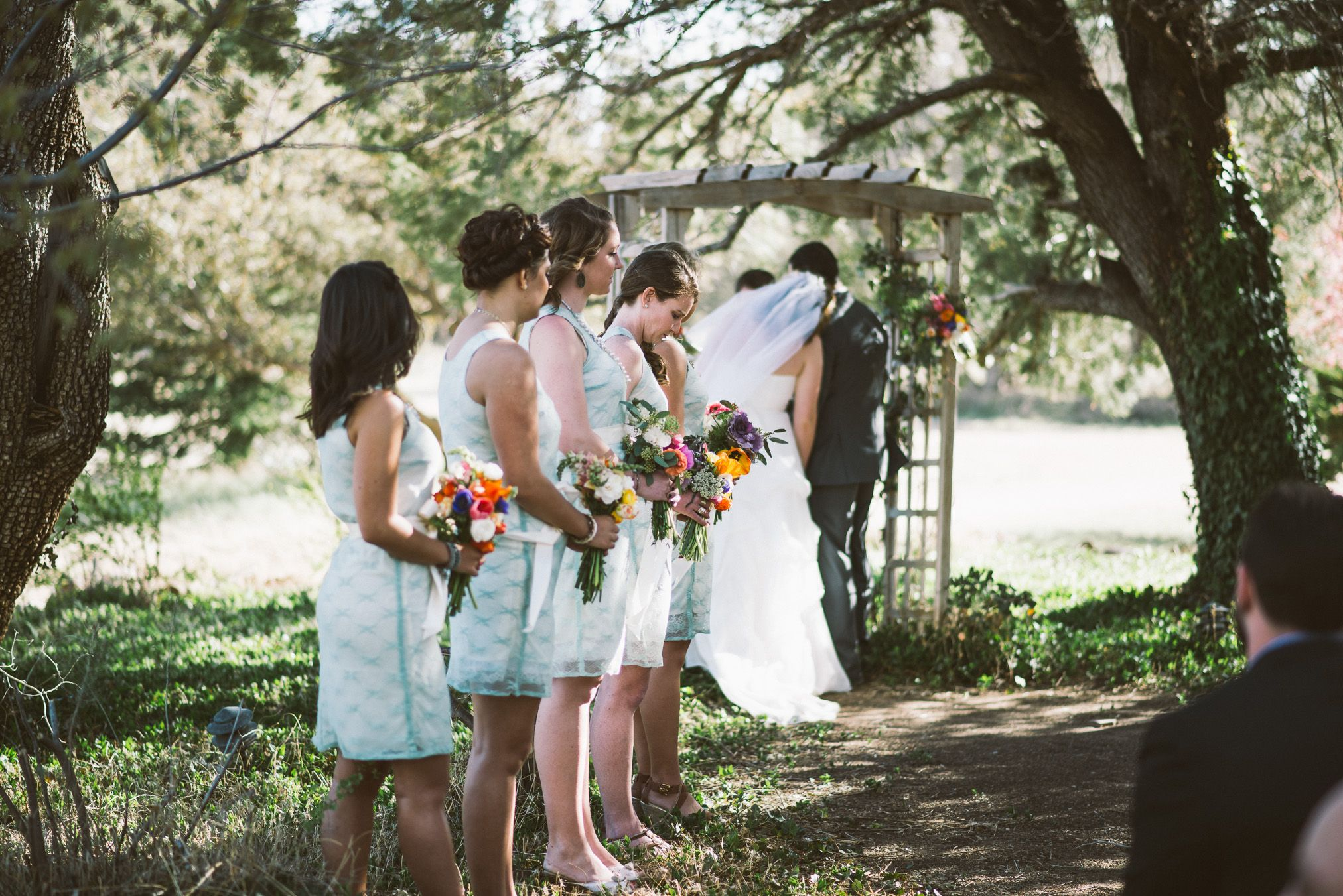 Lace shift dresses in seafoam green lined with ivory ktjeansy