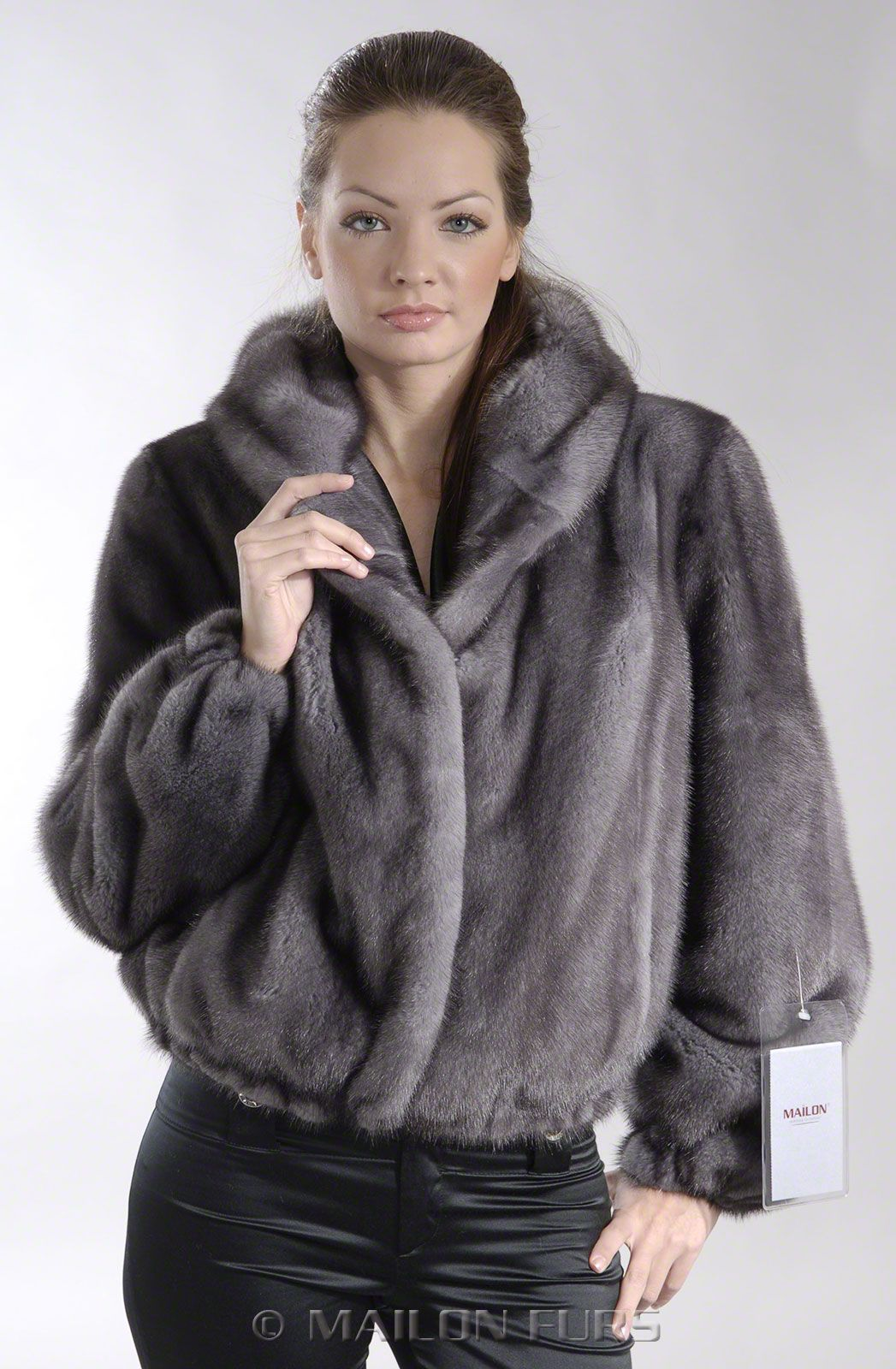 blue iris full skin jacket Fur jacket, Fur, Fur fashion