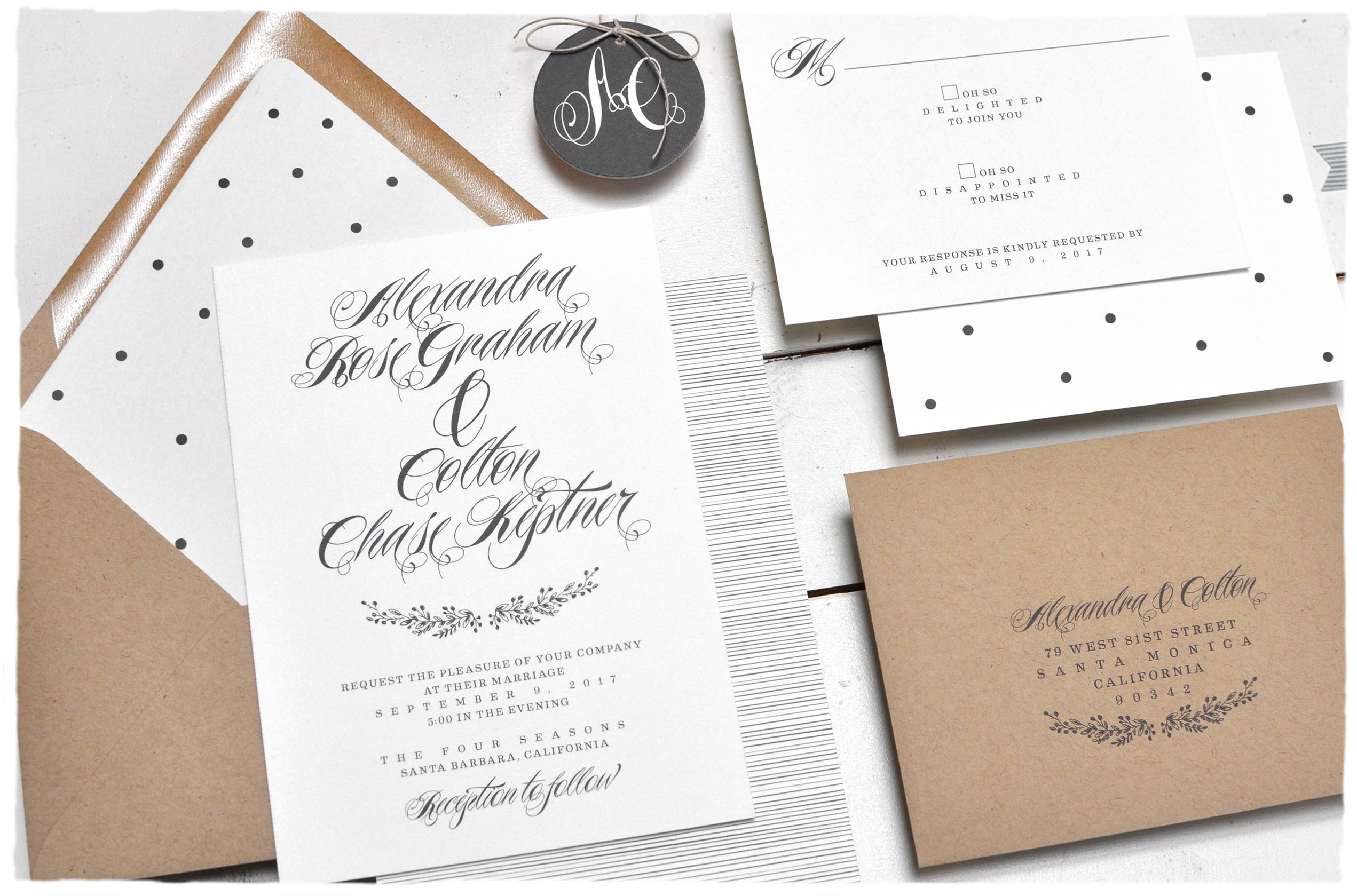 Woodland wreath wedding invitation suite sweet and rustic with woodland wreath wedding invitation suite sweet and rustic with large calligraphy names by smitten on monicamarmolfo Image collections