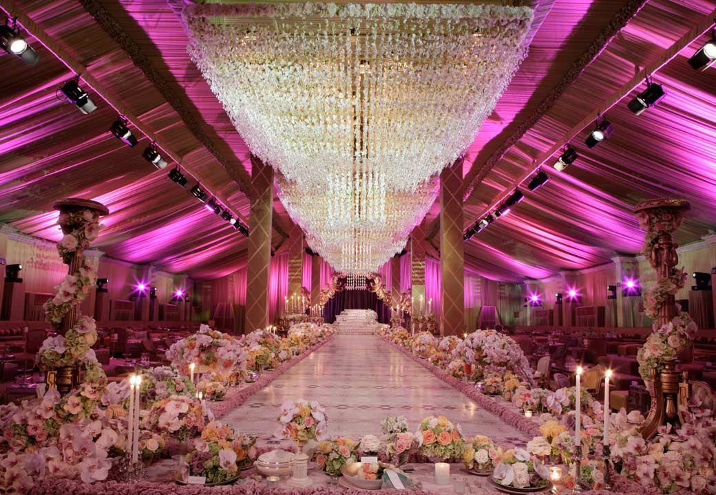 Preston Bailey Best Wedding Decorator Weddingbridal Design Reception