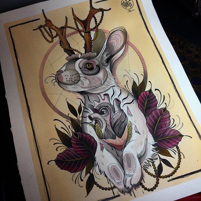 résultats de recherche d images pour jackalope tattoo big