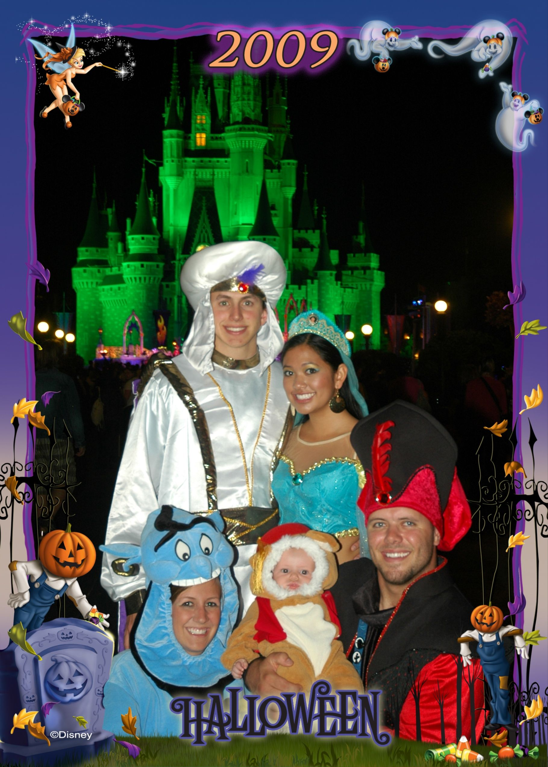 Disney Aladdin Jasmine Genie Abu And Jafar Costumes Costumes
