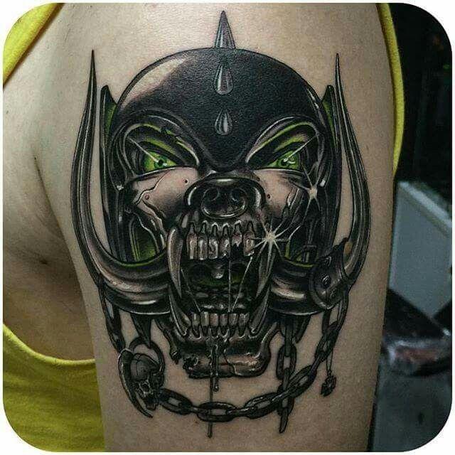 Motorhead Tattoo Tats Tattoos Metal Tattoo Music Tattoos