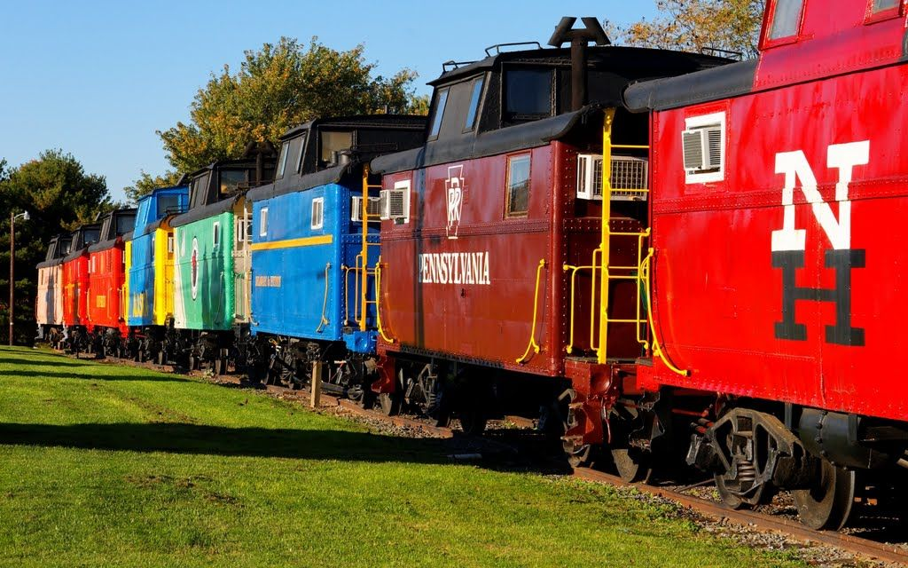 Where All Cabooses Go    Caboose Heaven  This is a Motel and