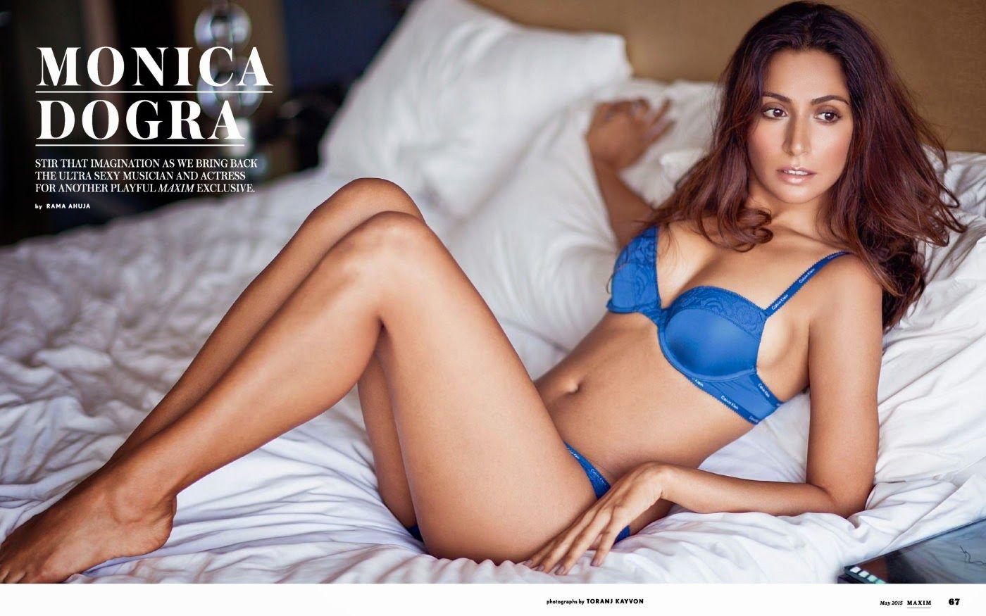 Monica Dogra Hot Photoshoot For Maxim India Photos Gallery