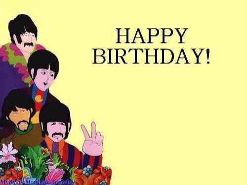 Vintage Original Beatles Birthday Card 1960s American Greetings Unused 4 11 20 2013 Beatles Birthday The Beatles Vintage Birthday Cards