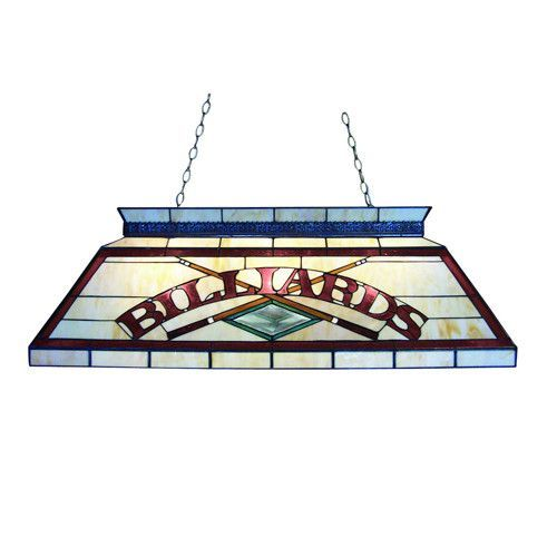 Z Lite Tiffany Billiard Antique Brass 4 Light Billiard Z42