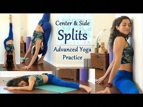 advanced yoga for splits flexibility hip mobility