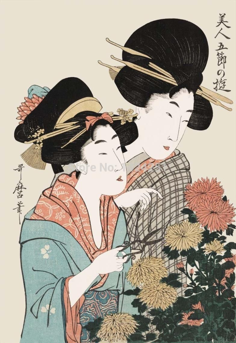 new style japanese geisha drawings geisha japan promotion online