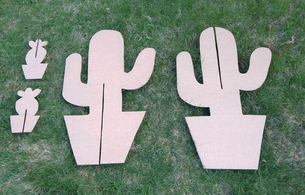 DIY Cardboard Cactus Party Decorations | www.sjwonderlandz ...