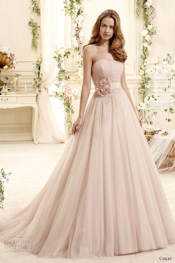 Colet 2015 wedding dresses bridal 2015 blush wedding dresses and colet 2015 wedding dresses wedding inspirasi pink wedding gownsblush junglespirit Images