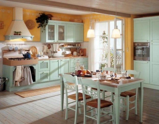Картинки по запросу дизайн кухни в деревенском стиле фото Интерьр - ikea küchenblock freistehend