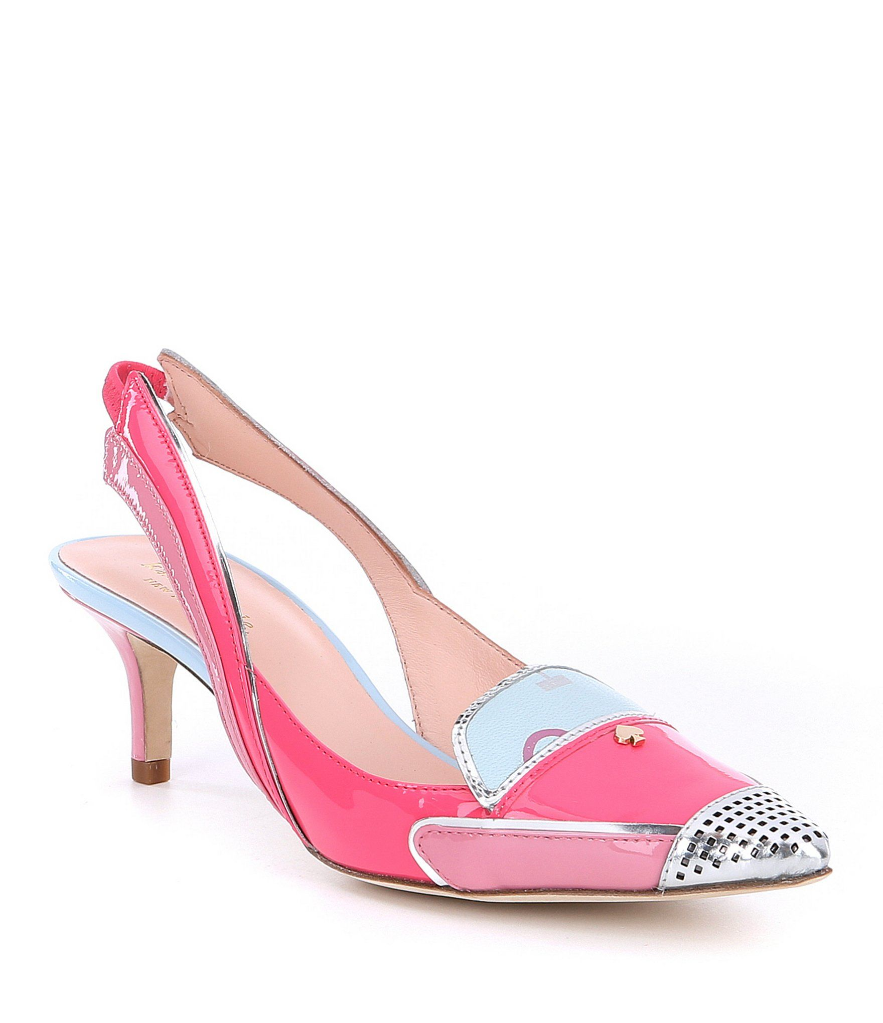 413cbe891f59 Shop for kate spade new york Paulina Patent Leather Cadillac Car Slingback  Pumps at Dillards.com. Visit Dillards.com to find clothing