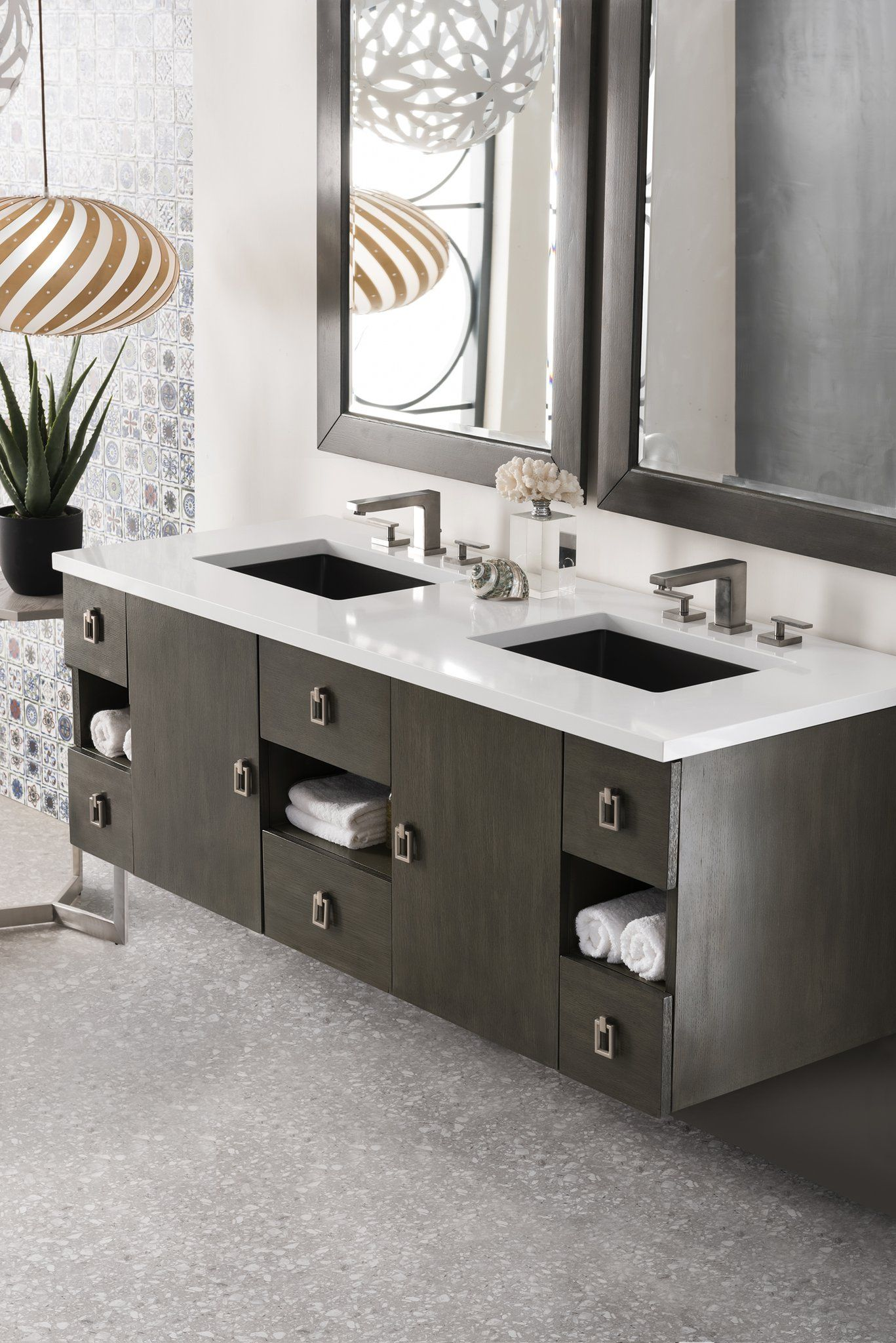 Sonoma 60 Double Bathroom Vanity With Images 60 Inch Double