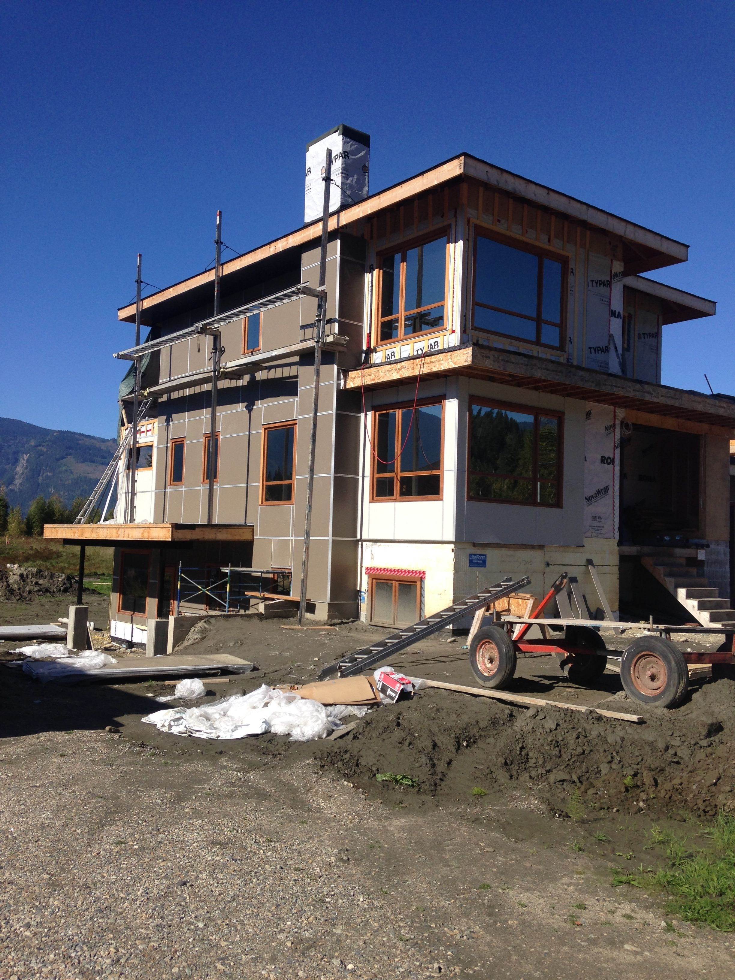 Pin by Michelle Schiewe The View on Construction Phases   House