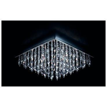 Pochard taklampe Stone Field Krom | Lampehuset (med bilder