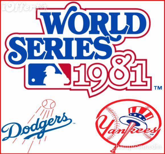 1981 La Dodgers 1984 World Series Mlb World Series World Series