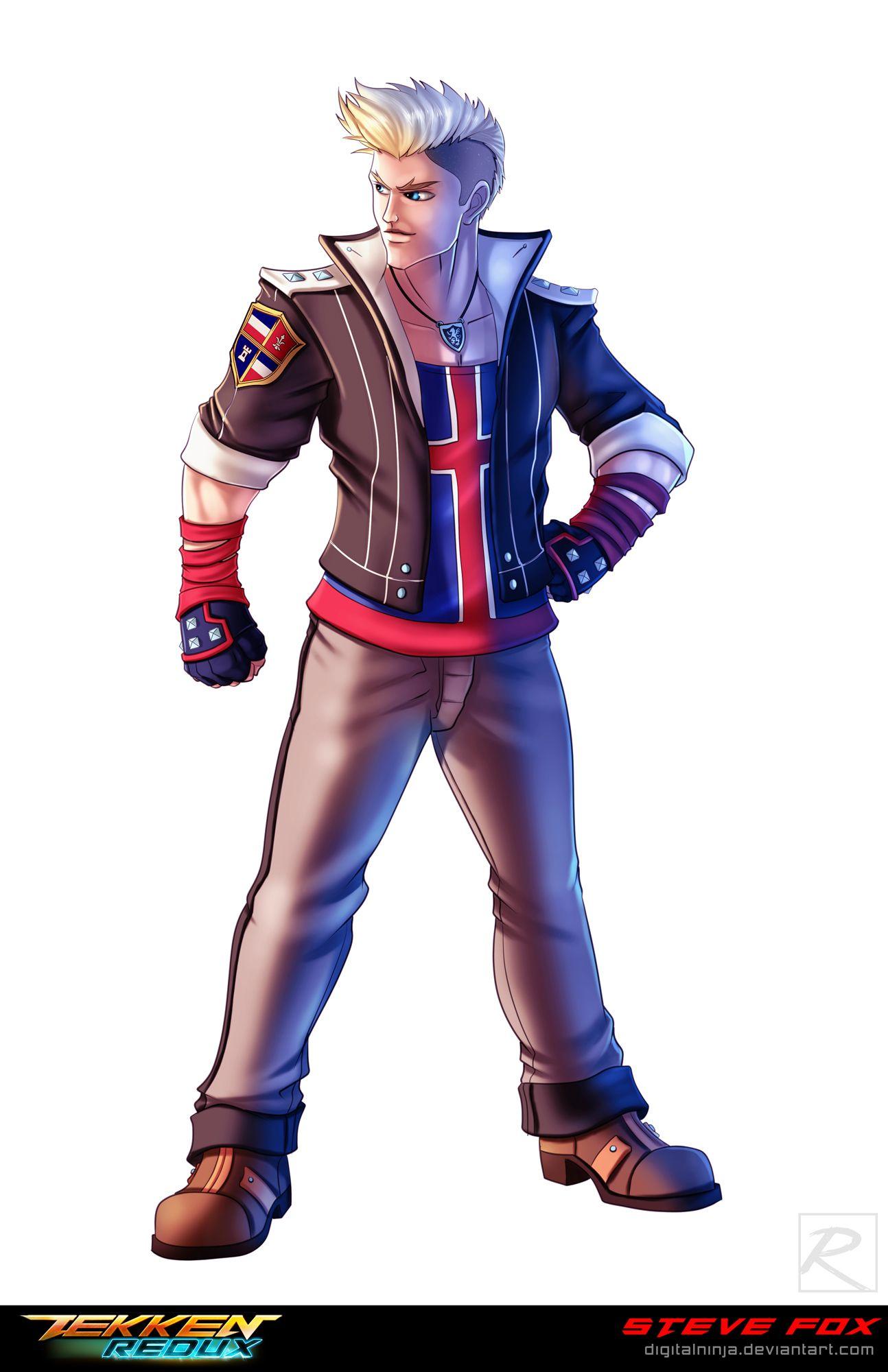Tekken Redux Project Steve Fox Steve Character Creation My Arts