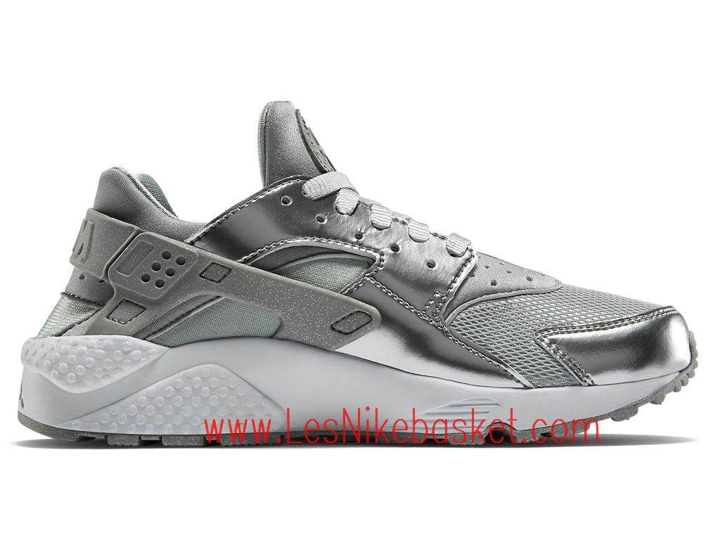 official photos c6085 98d12 Nike Air Huarache (Nike Urh) Homme metallic silver 683818-001
