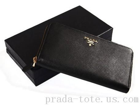 20cfbd043c6f Fashion  Prada M506A Wallets in Black Outlet store