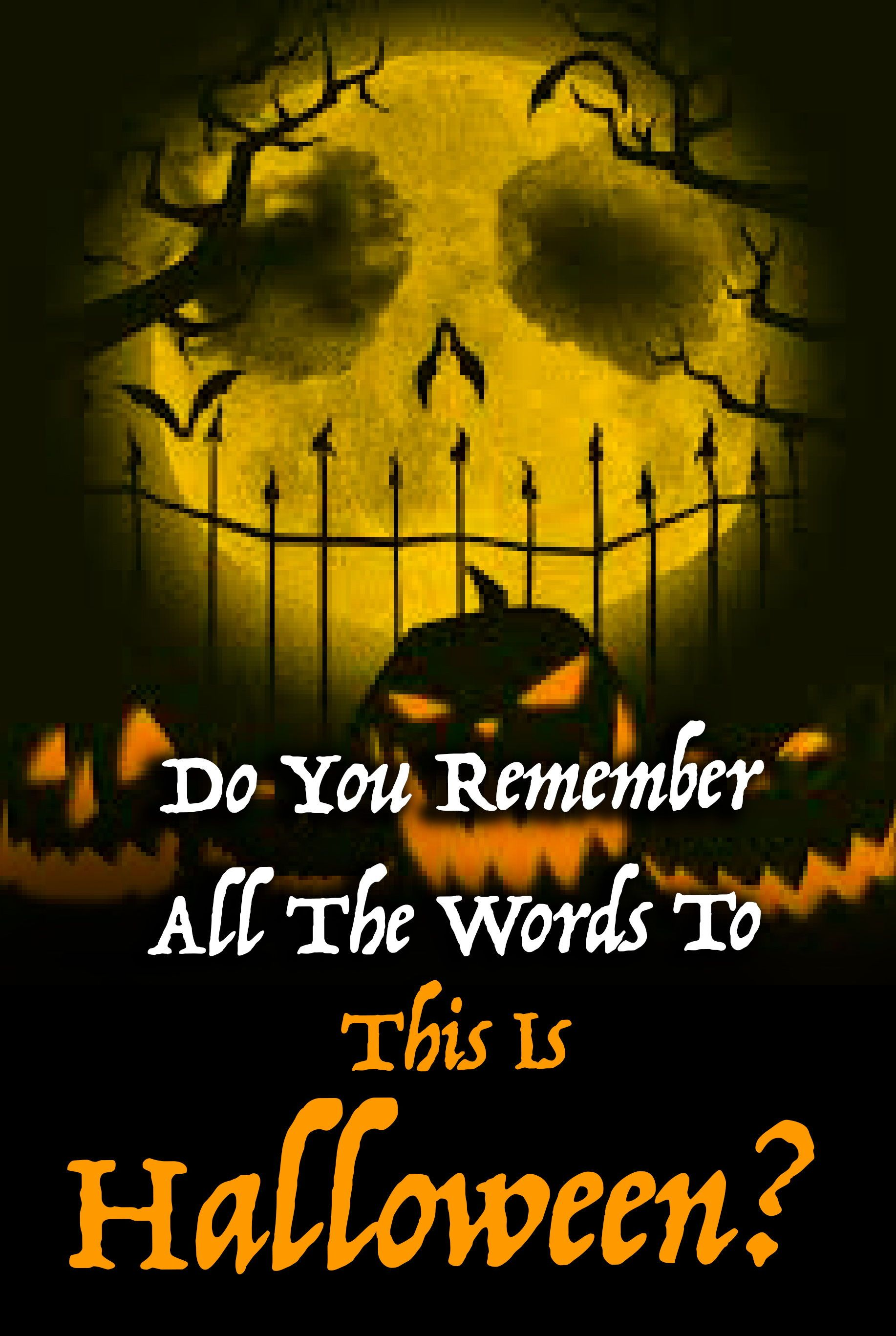 Quiz: Do You Remember All The Words To This Is Halloween? | Disney ...