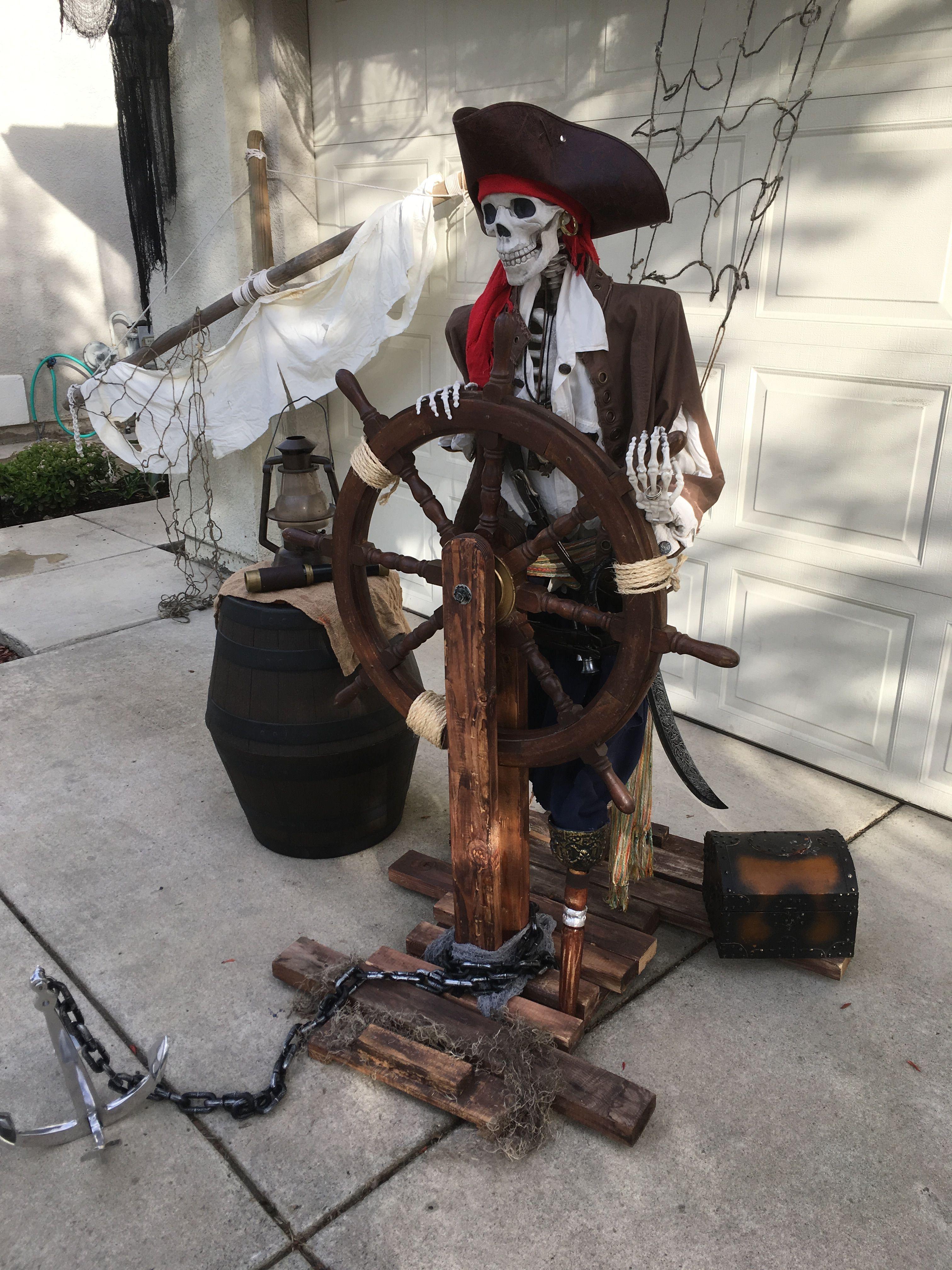 31 pirate halloween decorations in 2020 pirate halloween