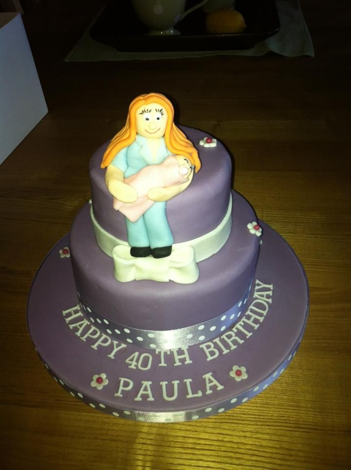 Birthday Cake For Midwife Cake Pinterest Cake Birthday Cake
