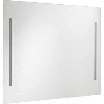Miroir Avec Clairage Int Gr 2 Tubes Fluorescents Miroir Avec Eclairage Integre Leroymerlin Salle De Bain Miroir Lumineux