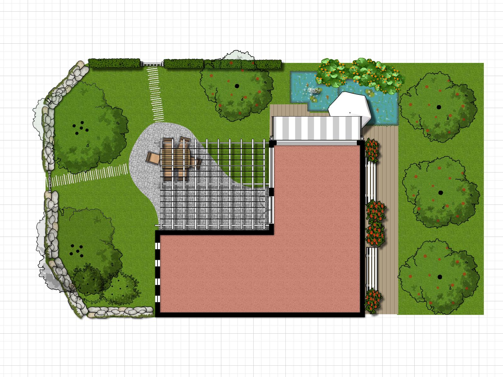 Garden Create Floor Plan Floor Plans Blueprints
