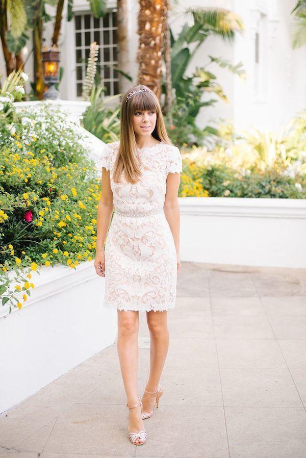 d264772160c57 Little White Dresses for a Shower, Rehearsal Dinner or City Hall ...