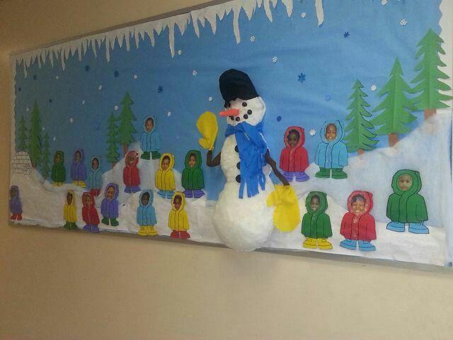Winter Wonderland Preschool Classroom Decorations : Headstart s winter wonderland r w own classroom ideas