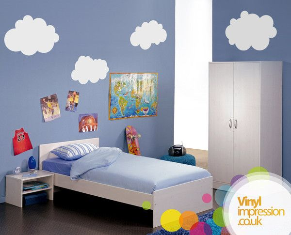 clouds | STICKER VINILO | Pinterest