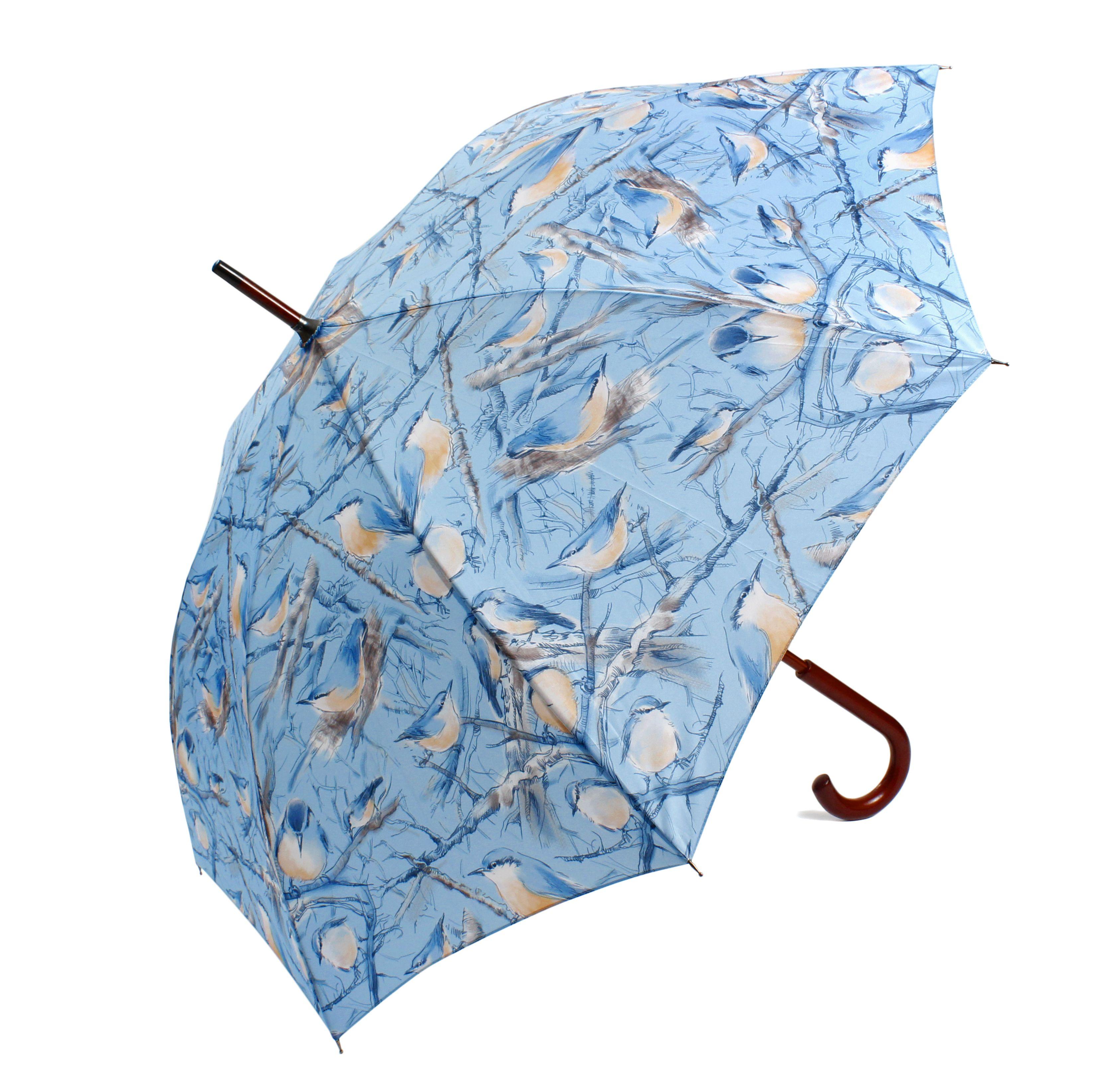 Nuthatch Umbrella Blue