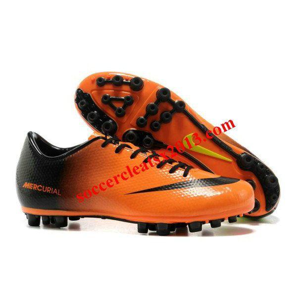 2d52c2d2e174 Nike Mercurial Vapor IX AG Artificial Grass Cristiano Ronaldo Football Boots  Orange Black Yellow