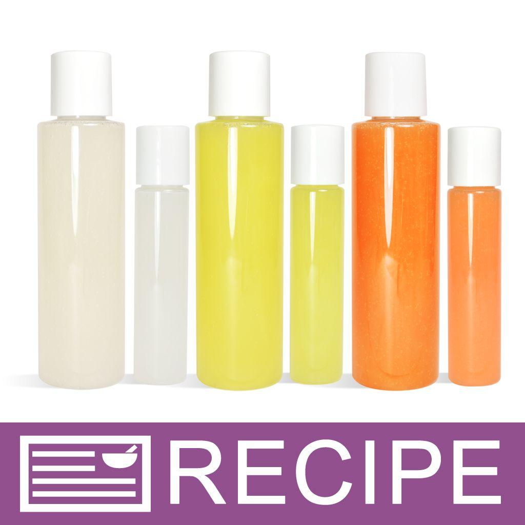 Tropical Trio Body Wash | DIY - Beauty | Homemade shower gel