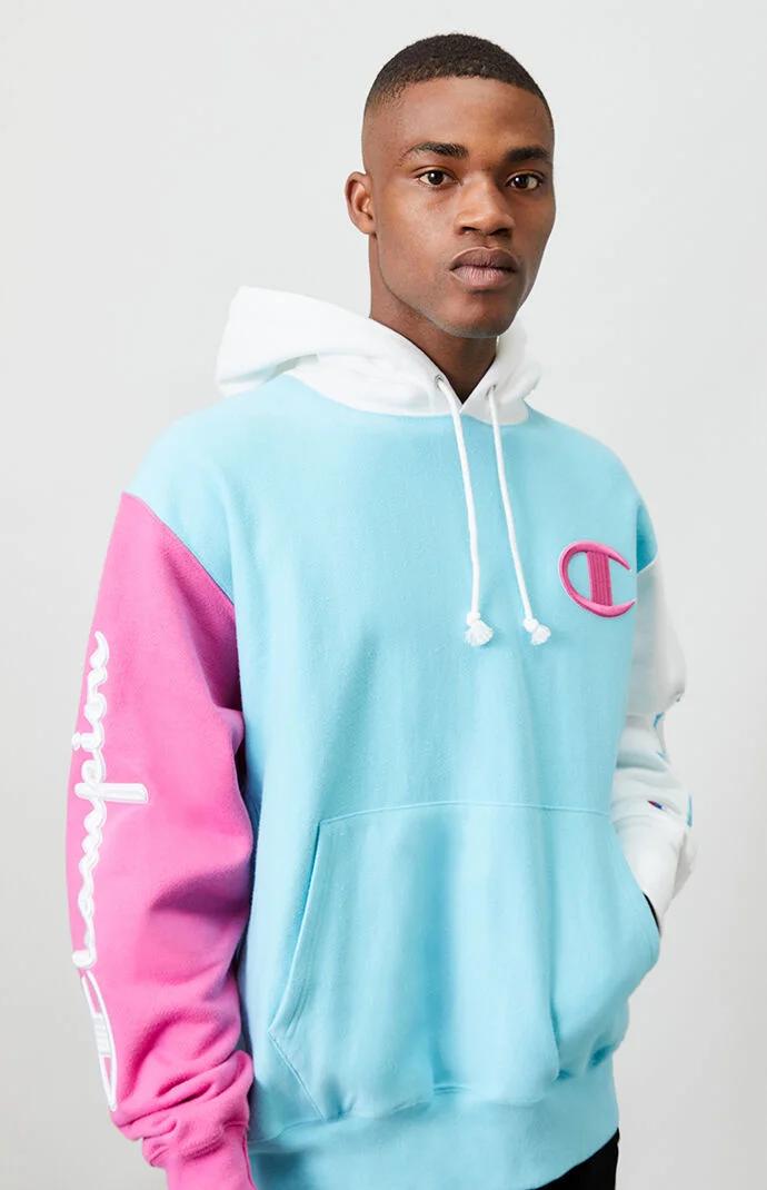 Champion Colorblocked Reverse Weave Hoodie