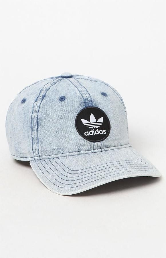 02bf1e091ca adidas Patch Denim Strapback Dad Hat