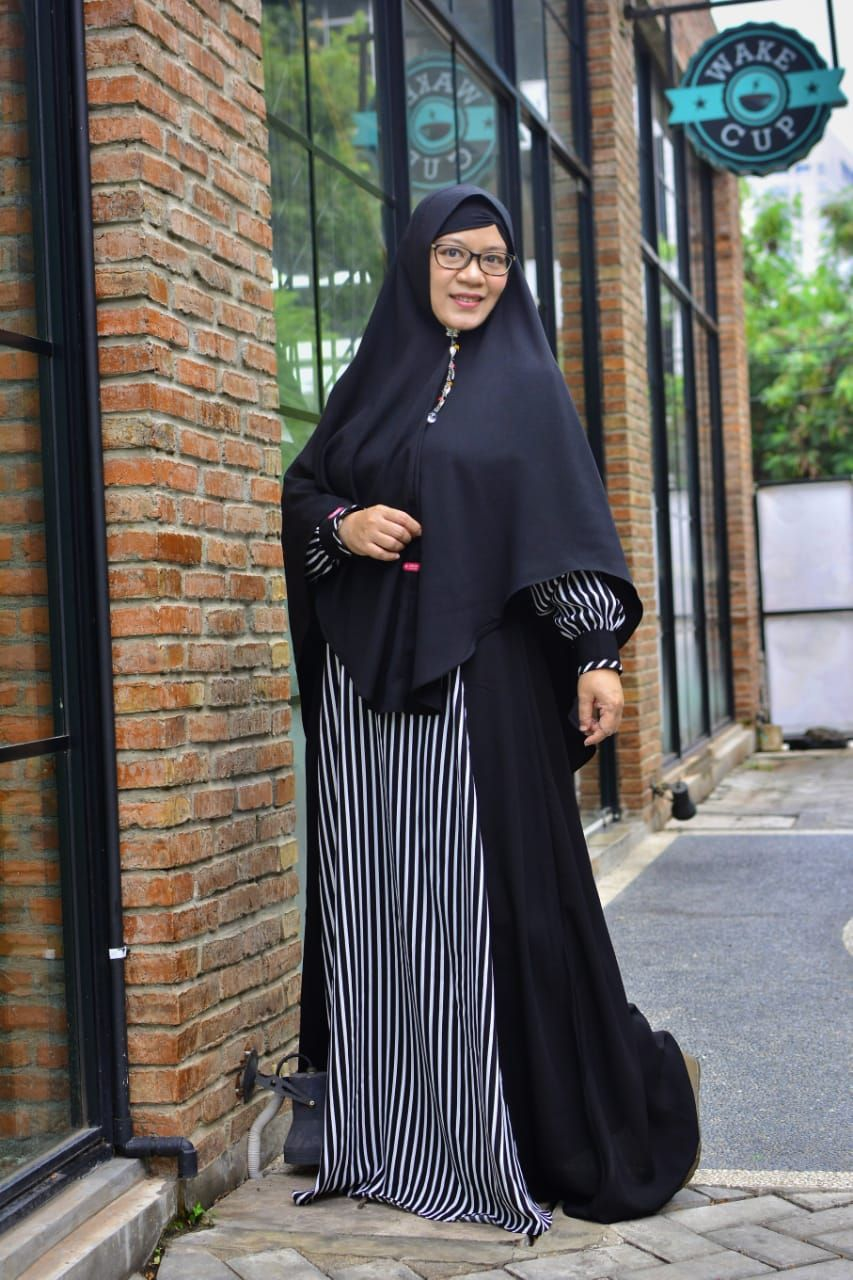 Model Baju Syari Modis Terbaru 9 by AULIA FASHION. #bajumodis