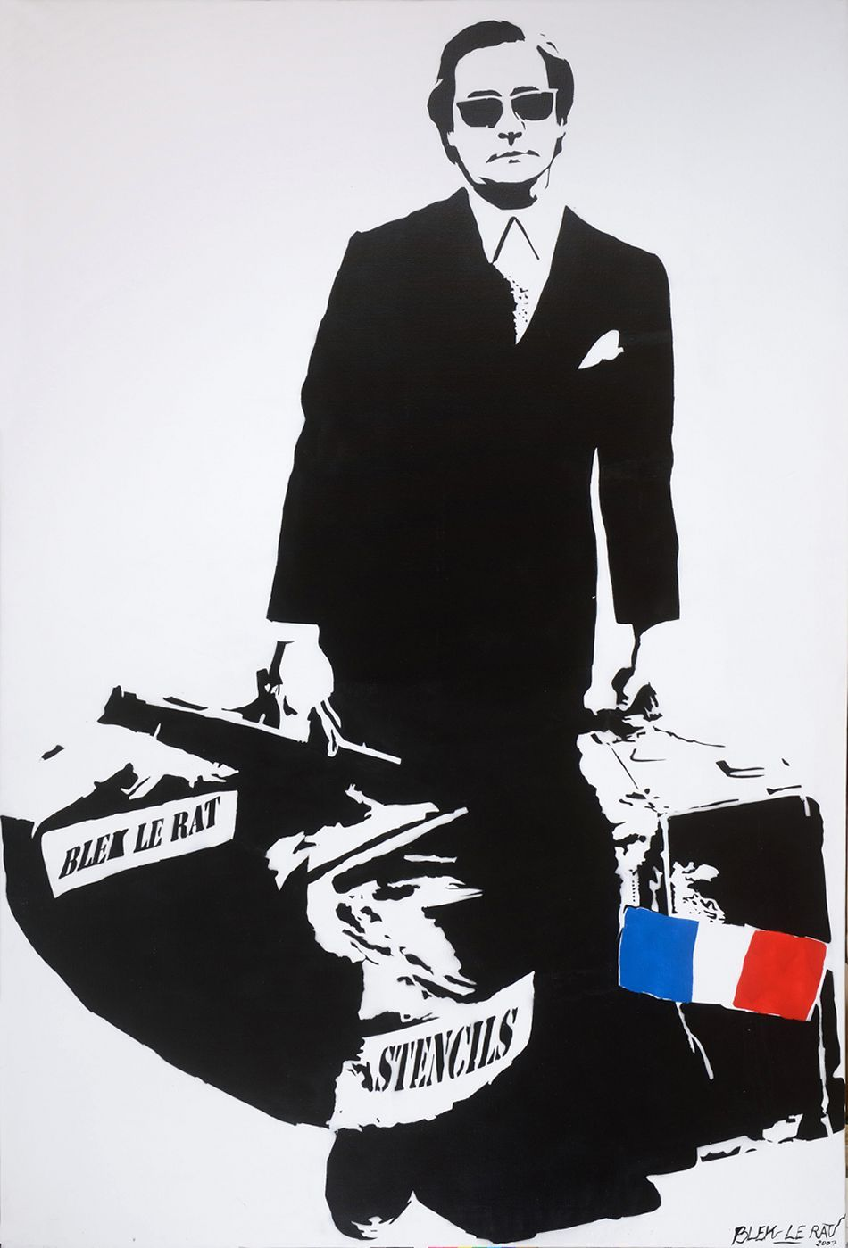 "Review of Complex's Short Film Featuring Blek Le Rat ""The Father of Stencil Graffiti"""