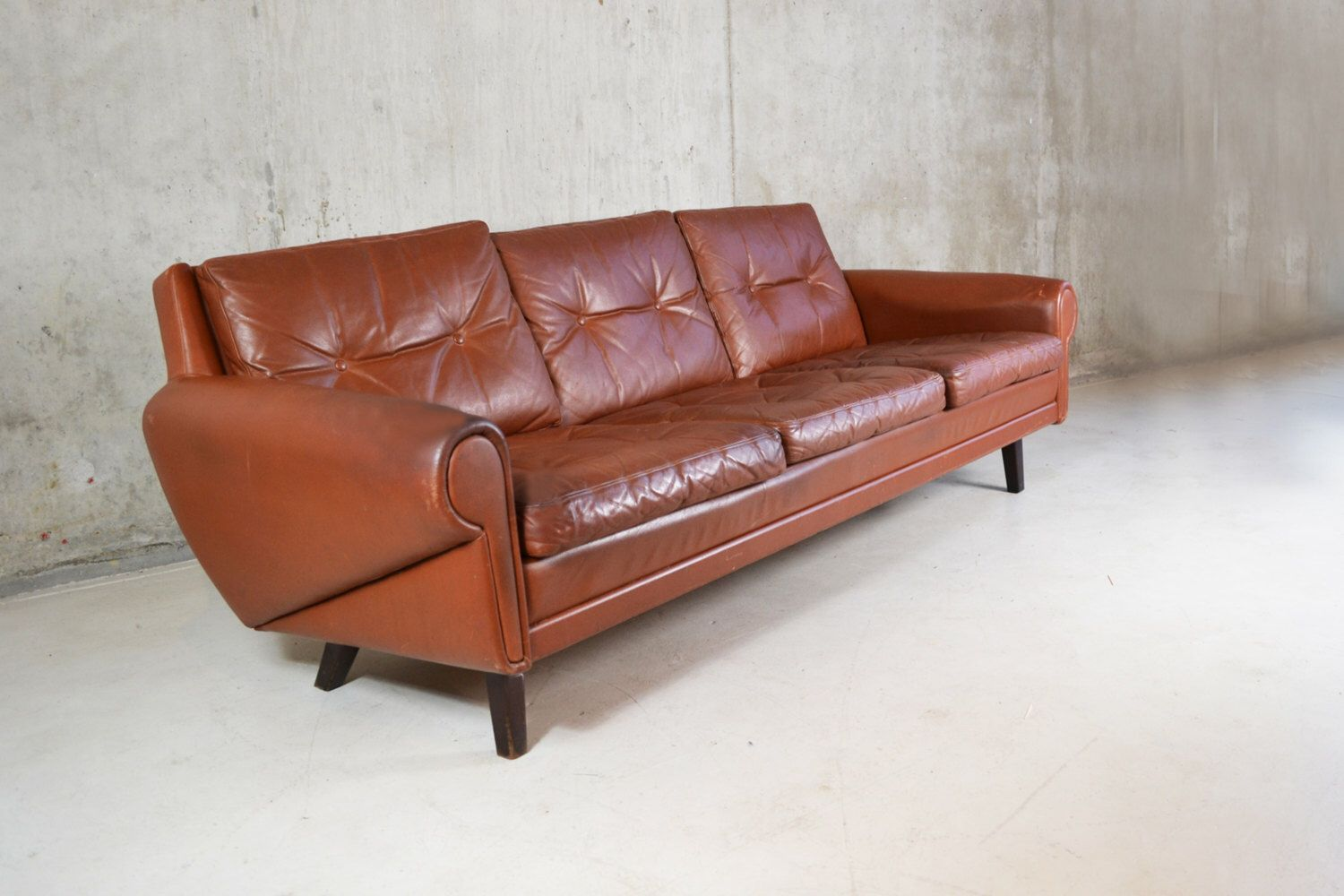 Pin By Studio Ness Llc On My Apartment Retro Furniture Leather