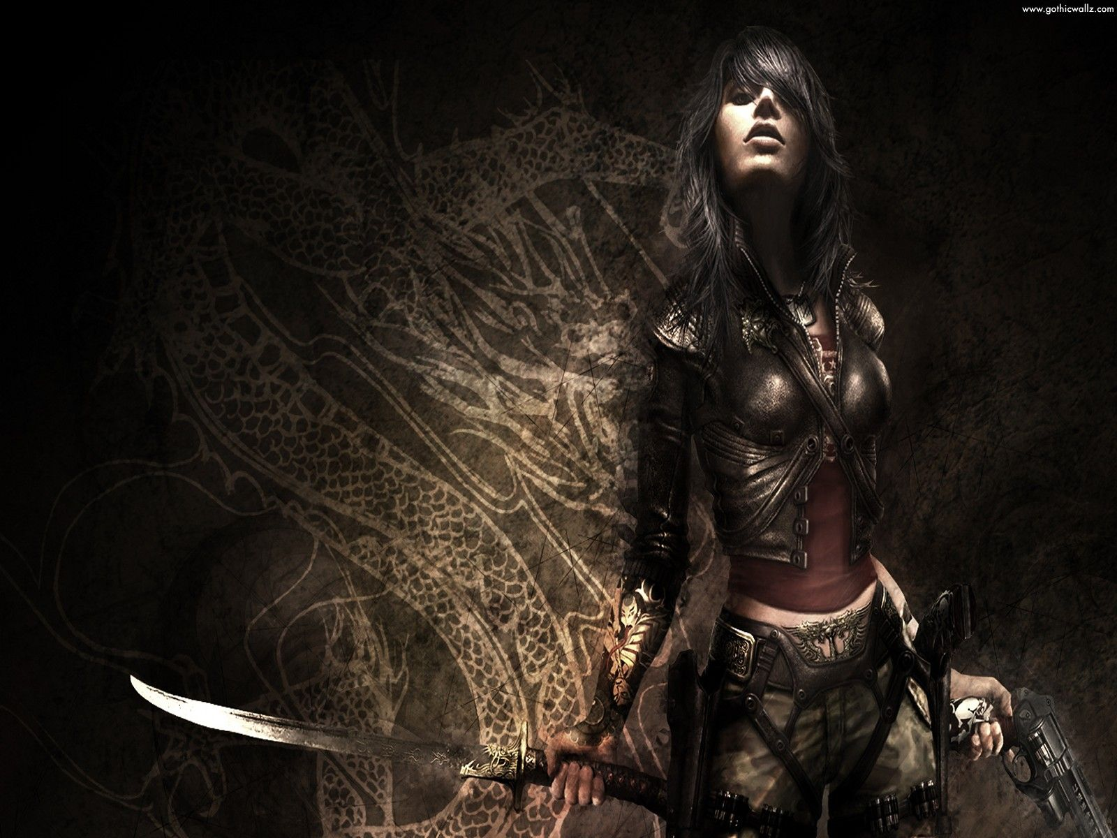 gothic wallpaper fantasy girl | dark gothic wallpaper download