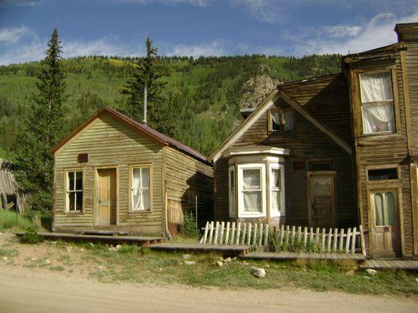 Colorado Ghost Town St Elmo Gorgeous Locales