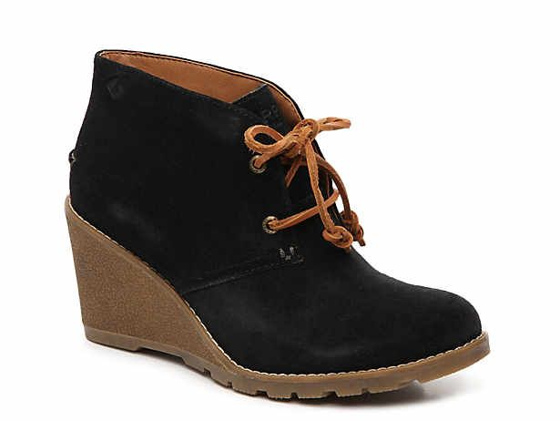 Celeste Prow Wedge Bootie Boots Wedge Ankle Boots