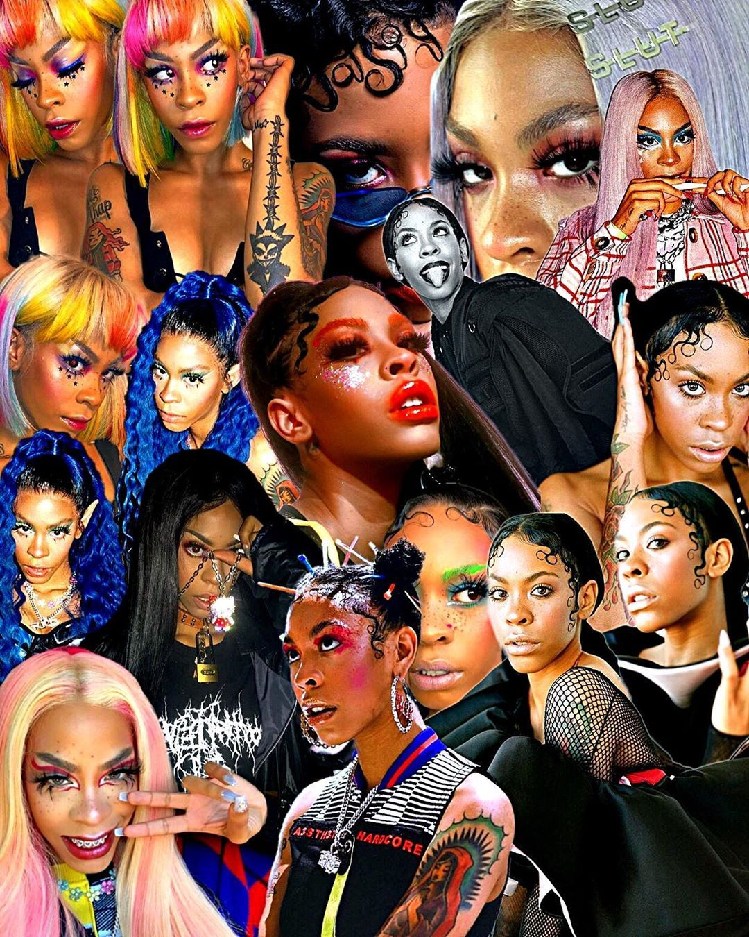 Pin On Rico Nasty Collage