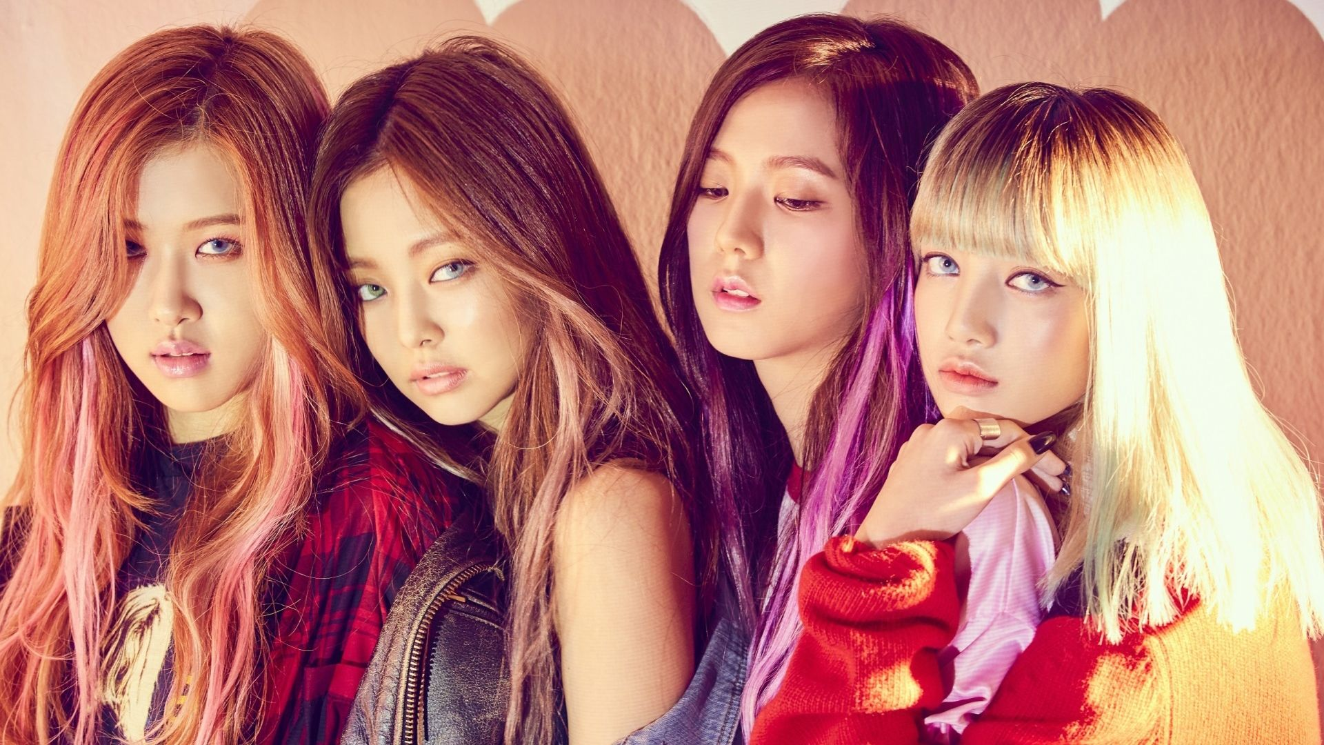 Blackpink K Pop Group Members Hd Wallpaper Jennie Jennie Rose Park Chae Young Lisa Lalisa Manoban Jisoo Kim Ji Soo 1920x1080 Gambar Kpop Kim