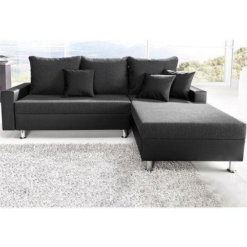 Canapé convertible en tissu imitation cuir Sit & More méri nne