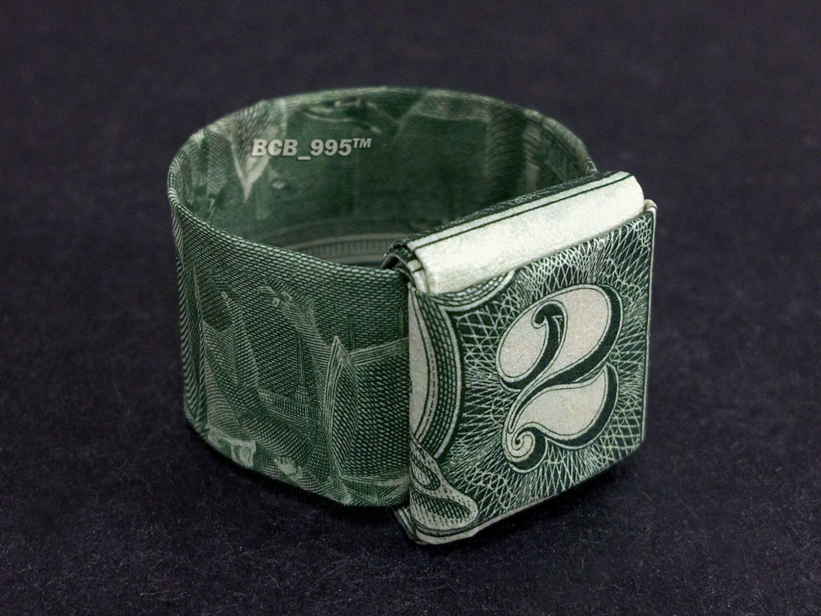 $2 Bill Origami Ring | Money Dollar Origami | Pinterest ... - photo#28