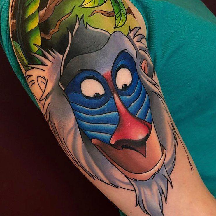 Rafiki - Lion King - Beautiful | Rafiki tattoo, Disney ...