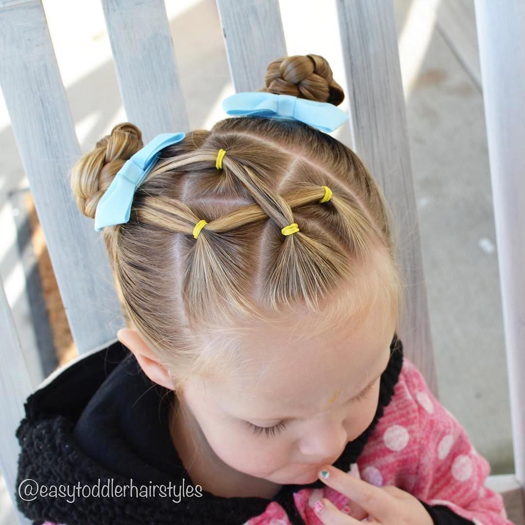 Pin by soleil on hairstyles for girls pinterest bun styles