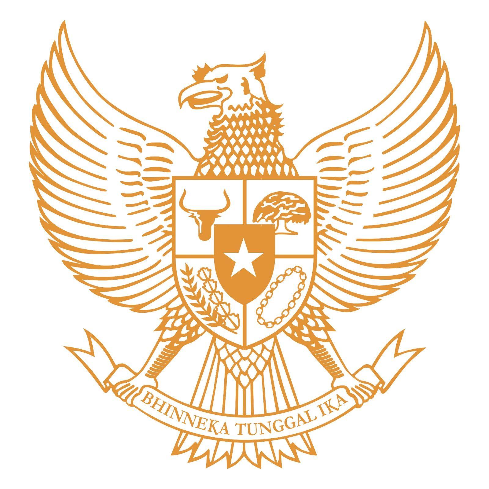 Download Logo Garuda Pancasila Vector Cdr Buku Gambar Gambar